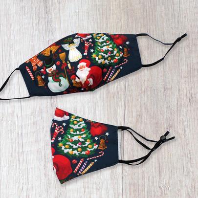 Xmas Novelty Christmas Themed Face Mask Durable & Reusable