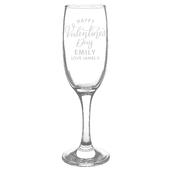 Personalised Valentine's Day Flute Glass - Personalise It!