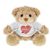 Personalised Valentine's Day Confetti Hearts Teddy Bear - Personalise It!