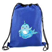 Personalised Narwhal Blue Swim Bag - Personalise It!