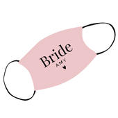 Personalised Bride Face Covering - Personalise It!