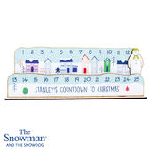 Personalised Make Your Own The Snowman Christmas Advent Countdown Kit - Personalise It!