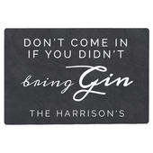 Personalised Gin Metal Sign - Personalise It!