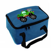 Personalised Monster Truck Blue Lunch Bag - Personalise It!