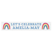 Personalised Rainbow Banner - Personalise It!