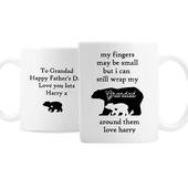 Personalised My Fingers May Be Small Bears Mug - Personalise It!