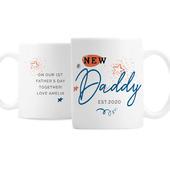 Personalised New Dad / Grandad Mug - Personalise It!