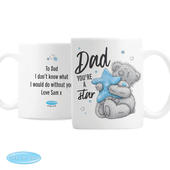 Personalised Me To You Dad Youre A Star Mug - Personalise It!