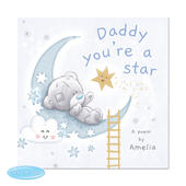 Personalised Tiny Tatty Teddy Daddy You're A Star Poem Book - Personalise It!