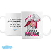 Personalised Me To You Super Mum Mug - Personalise It!