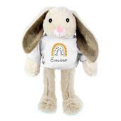 Personalised Rainbow Bunny Rabbit - Personalise It!