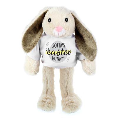 Thank You//Birthday// BabyShower Easter Gift Personalised Super Soft Plush rabbit
