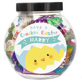 Personalised Have A Cracking Easter Sweets Jar - Personalise It!