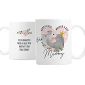 Personalised 1st Mother's Day Mama Bear Mug - Personalise It!
