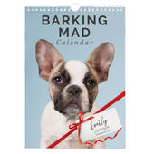 Personalised A4 Barking Mad Calendar - Personalise It!