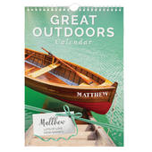 Personalised A4 Great Outdoors Calendar - Personalise It!