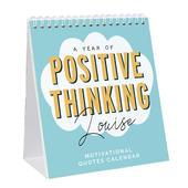 Personalised Motivational Quotes Desk Calendar - Personalise It!