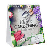 Personalised Gardening Desk Calendar - Personalise It!