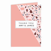 Personalised Thank You Card Add Any Name - Personalise It!