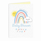 Personalised Baby Shower and New Baby Card Add Any Name - Personalise It!