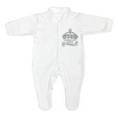 Personalised Royal Crown 0-3 Months Babygrow - Personalise It!