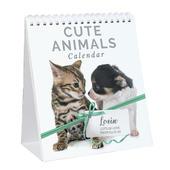 Personalised Cute Animals Desk Calendar - Personalise It!