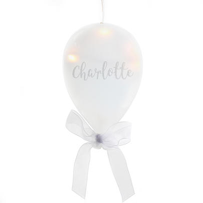 Personalised Message LED Hanging Glass Balloon - Personalise It!