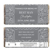 Personalised Congratulations Milk Chocolate Bar - Personalise It!