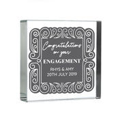 Personalised Congratulations Large Crystal Token - Personalise It!
