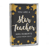 Personalised You Are A Star Teacher Glitter Shaker - Personalise It!