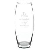Personalised Anniversary Bullet Vase - Personalise It!