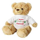 Personalised Merry Christmas Teddy Bear - Personalise It!
