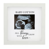 Personalised All Things Grow Baby Scan Frame - Personalise It!