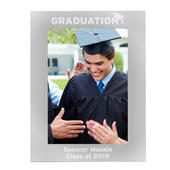 Personalised Graduation 7x5 Silver Photo Frame - Personalise It!