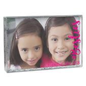 Personalised #Besties 6x4 Glitter Shaker Photo Frame - Personalise It!