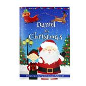 """Personalised Boys """"""""It's Christmas"""""""" Story Book, Featuring Santa and his Elf Jingles - Personalise It!"""