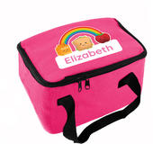 Personalised Healthy Eating Pink Lunch Bag - Personalise It!