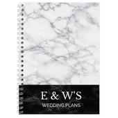 Personalised Marble Effect A5 Notebook - Personalise It!