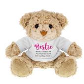 Personalised #Bestie Teddy Bear - Personalise It!