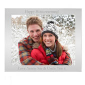 Personalised 10x8 Landscape Silver Photo Frame - Personalise It!