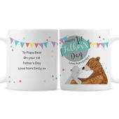 Personalised 1st Father's Day Daddy Bear Mug - Personalise It!