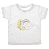 Personalised Baby Unicorn T shirt 2-3 Years - Personalise It!
