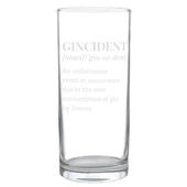 Personalised Gincident Hi Ball Glass - Personalise It!
