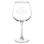 Personalised Gin Balloon Glass - Personalise It!