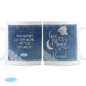Personalised Me to You 'Love You to the Moon and Back' Mug - Personalise It!