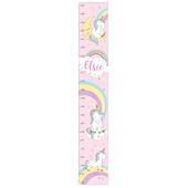 Personalised Baby Unicorn Height Chart - Personalise It!