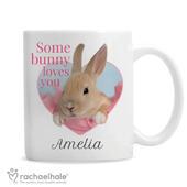 Personalised Rachael Hale 'Some Bunny' Mug - Personalise It!