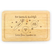 Personalised Christmas Eve Mince Pie Board - Personalise It!