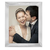 Personalised Our Wedding Day 10x8 Silver Photo Frame - Personalise It!