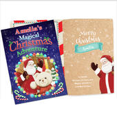 Personalised Magical Christmas Adventure Story Book - Personalise It!